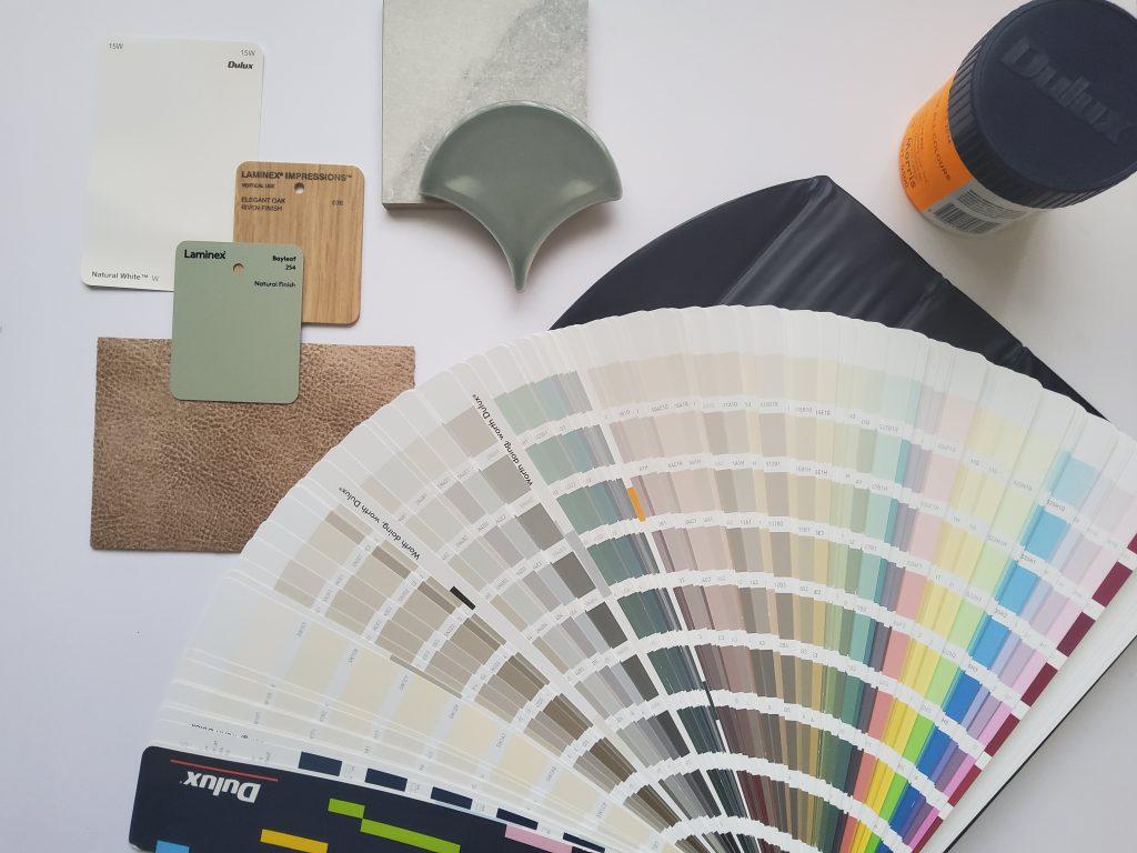 Colour Scheme Selection, Establishing a colour scheme from scratch